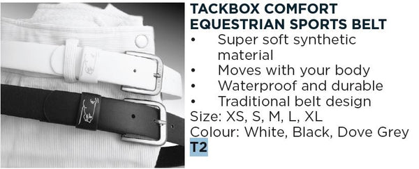Tackbox Equestrian Comfort Sports Belt