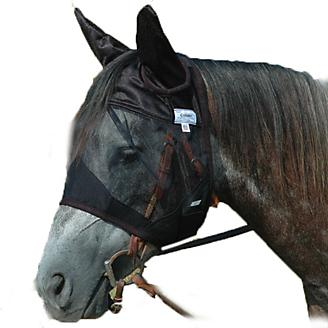 Cashel QUIET RIDE Fly Mask Horse Standard w/Ears - Horse