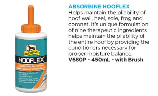 Absorbine Hooflex Liquid Hoof Conditioner