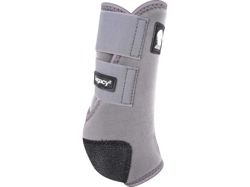 Classic Equine Legacy Sports Medicine Boot - Large Steel Grey