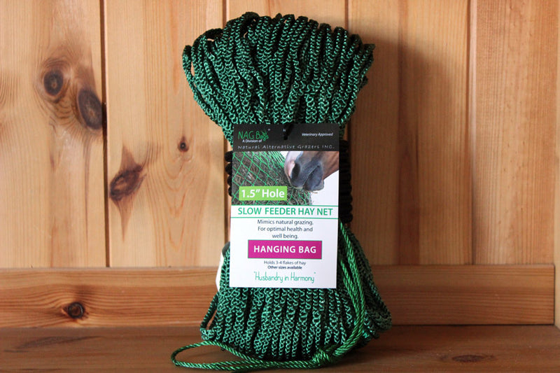 Nag Bag - Slow Feeder Hay Nets