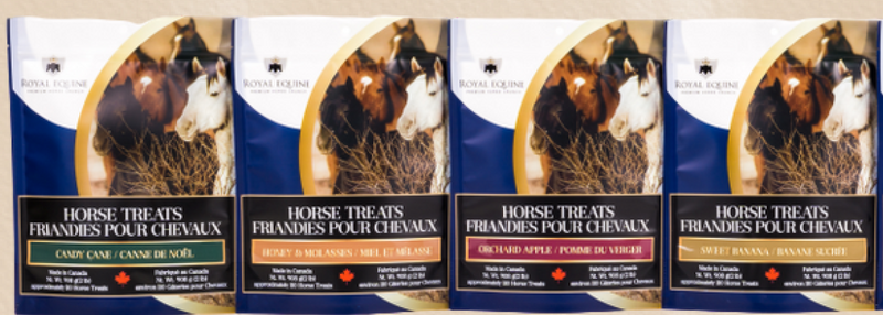 Royal Equine Horse Treats - Canadian Made!