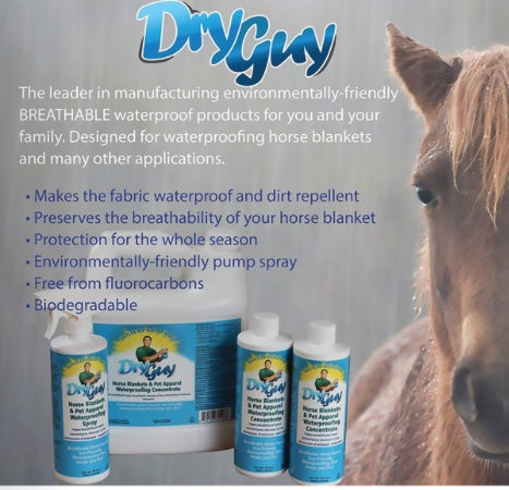 Dry Guy Horse Blanket and Pet Apparel Spray