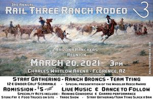 Rail Three Ranch Rodeo - Arizona Ranchers Reunion