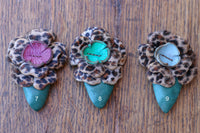 Leopard Hair Clip - Pick Your Color