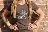 The 'Lead Em Out' Women's Fit Tee