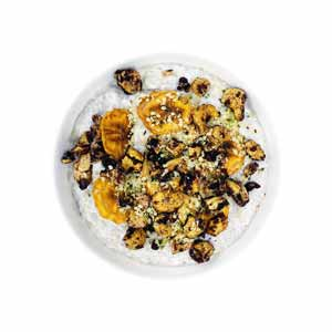 Chunky Banana Chip Chia Pudding
