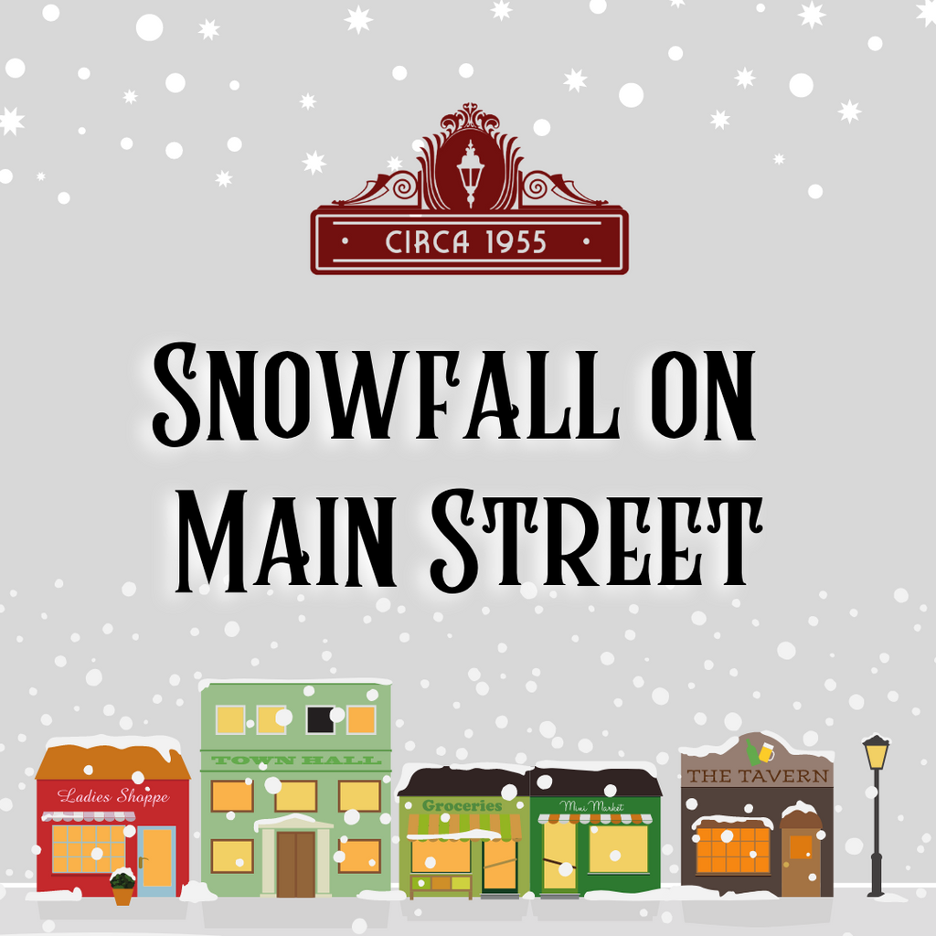 Snowfall on Main Street