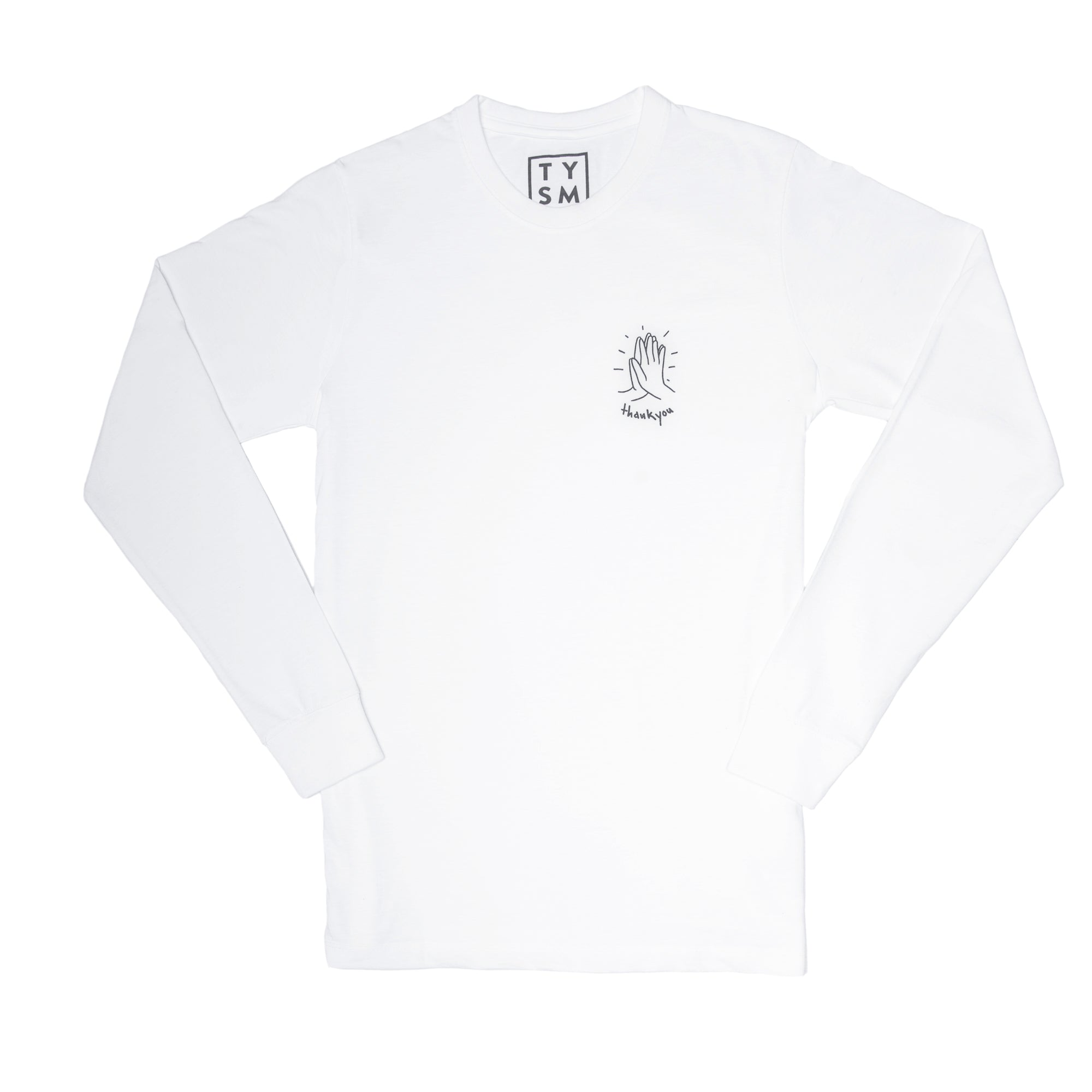 Hi-Five Long Sleeve White/Black