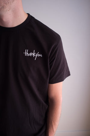 TYSM Box Tee Black/White - thankyouapparel
