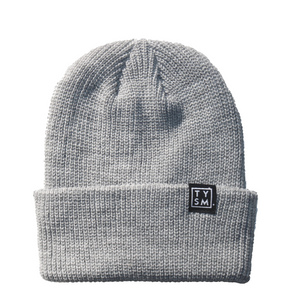 The TYSM Beanie Heather Grey - thankyouapparel