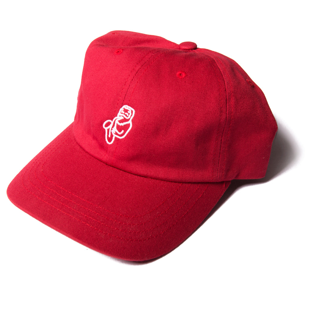 Jazz-Man 6 Panel Crimson - thankyouapparel