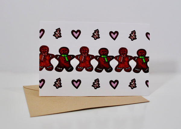 Cookie Cutter Love Christmas Card