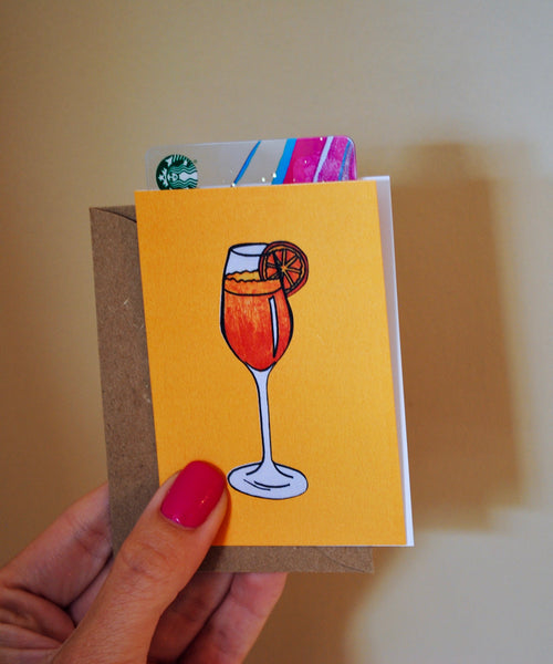 Orange You Glad? Bite-Sized (Mini) Card
