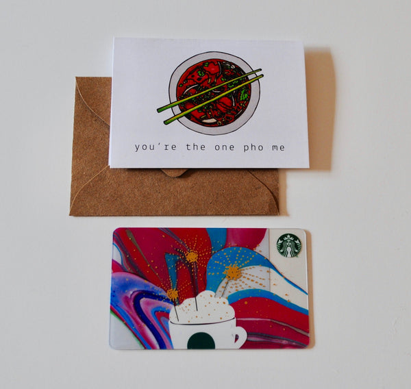 One Pho Me Bite-Sized (Mini) Card
