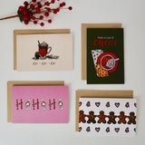 12-PK Assorted 4x6 Christmas / Holiday Card Bundle