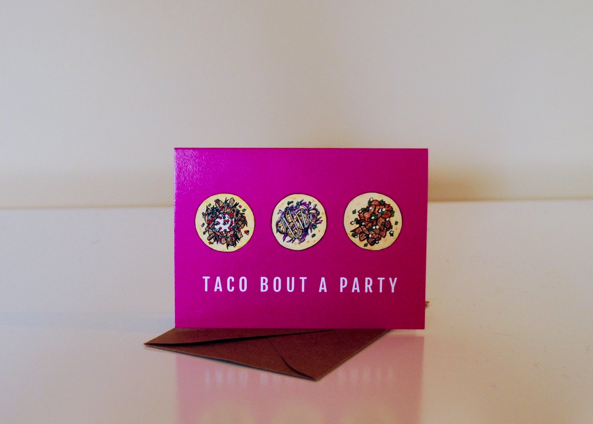 Taco Bout A Party Bite-Sized (Mini) Card