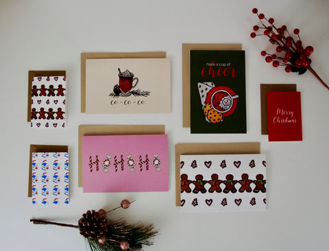 14-PK Assorted Sizes Christmas / Holiday Card Bundle