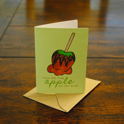 Caramel Apple of My Eye Bite-Sized (Mini) Card