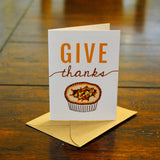 Give Thanks Bite-Sized (Mini) Card