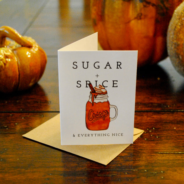 Sugar & Spice Bite-Sized (Mini) Card