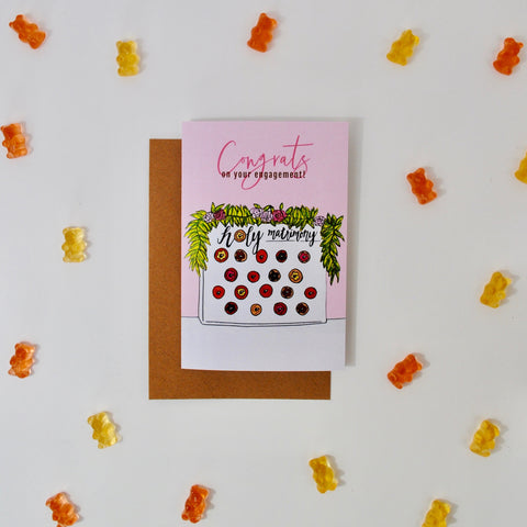 Donut Wall Engagement Card