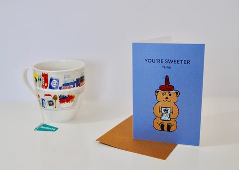 Sweeter Than Honey Thank You Card
