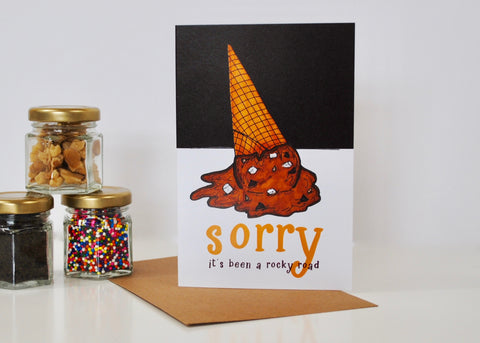 Rocky Road Get Well Card
