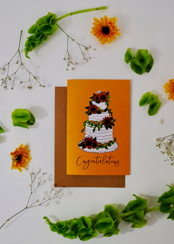 Summer Wedding Card