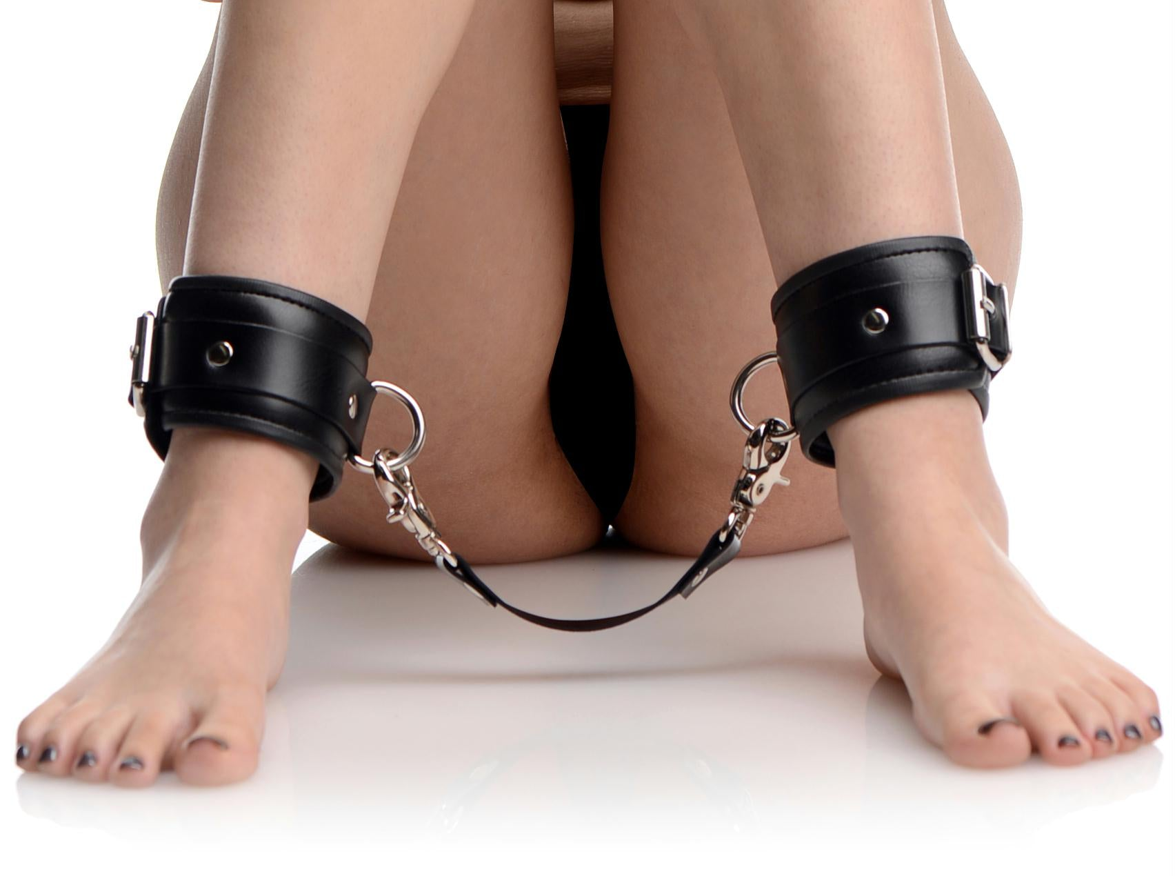 Strap Linked Bondage Cuffs