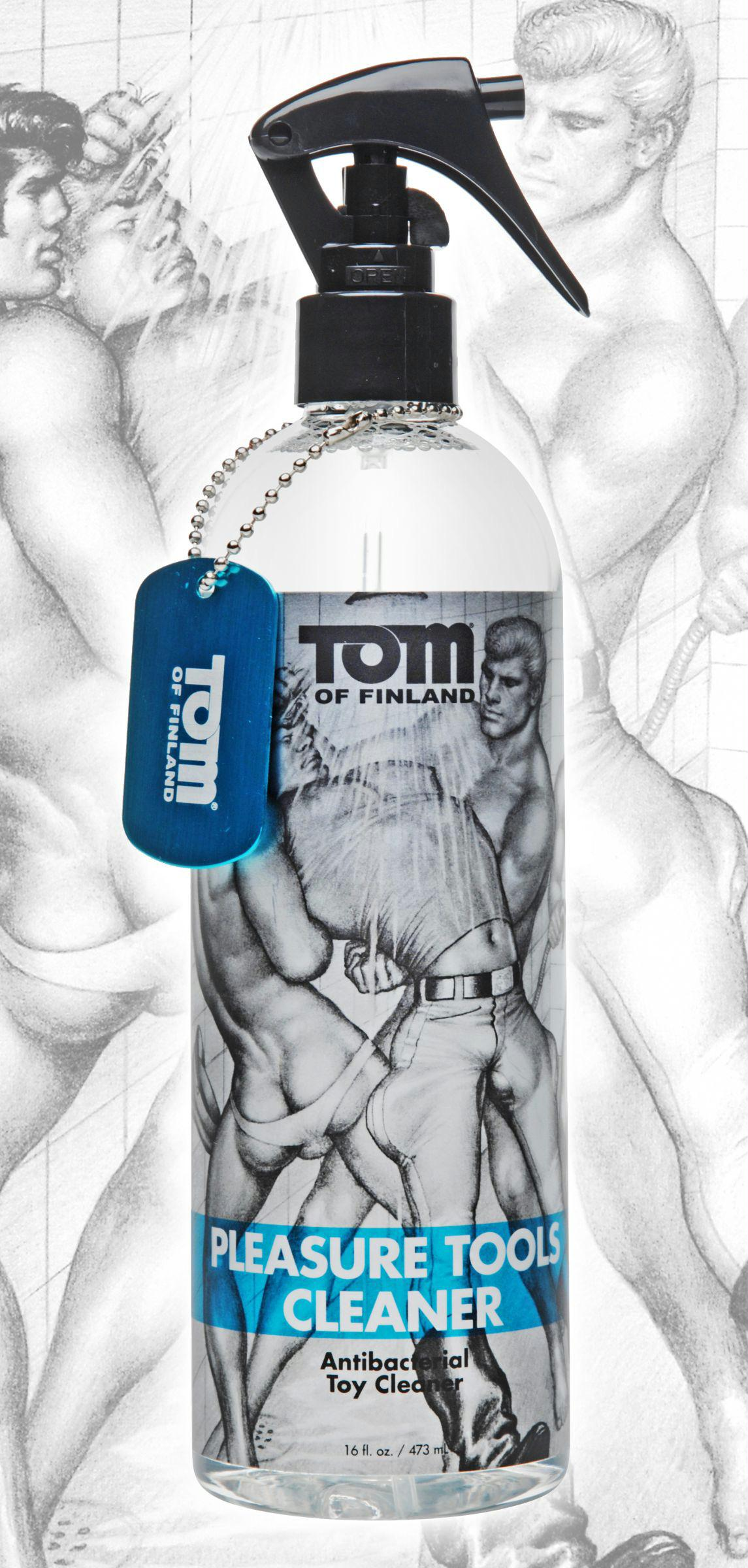 Tom of Finland Pleasure Tools Cleaner- 16oz
