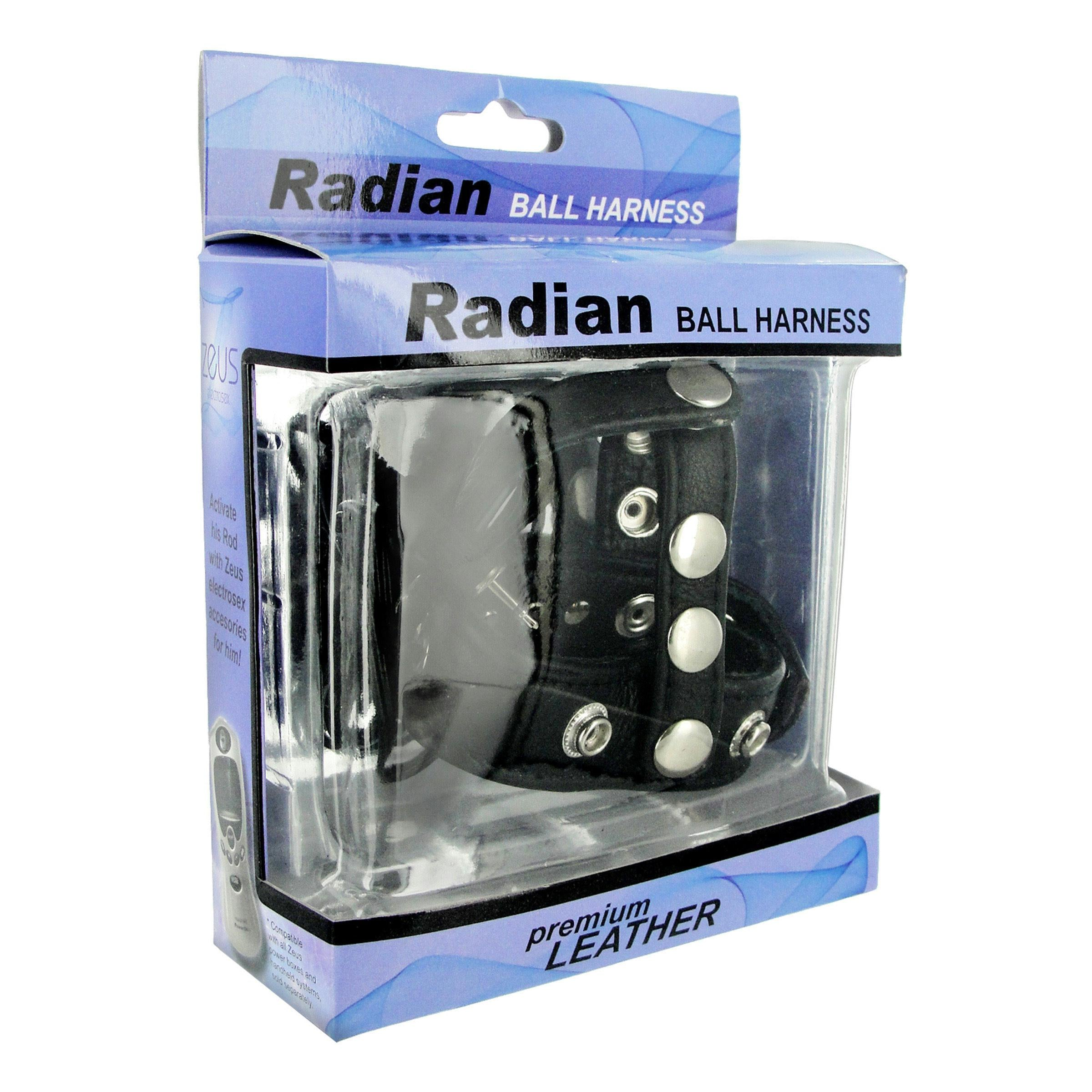 Radian Leather Ball Harness