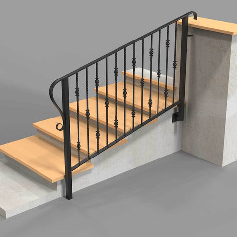 Dartmouth - V styled Balustrade - Platform Balcony - Handrail