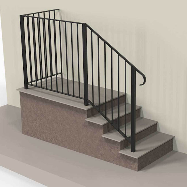 Balustrade - Tiverton - Balustrade - On Steps - Handrail