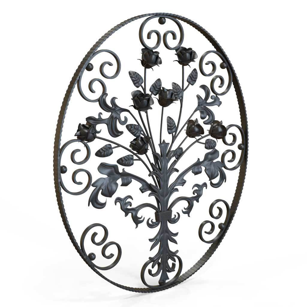 Decorative Panel - Decorative Panel - Roses In Bloom