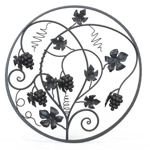Wrought Iron Decorative Panel - Barrington