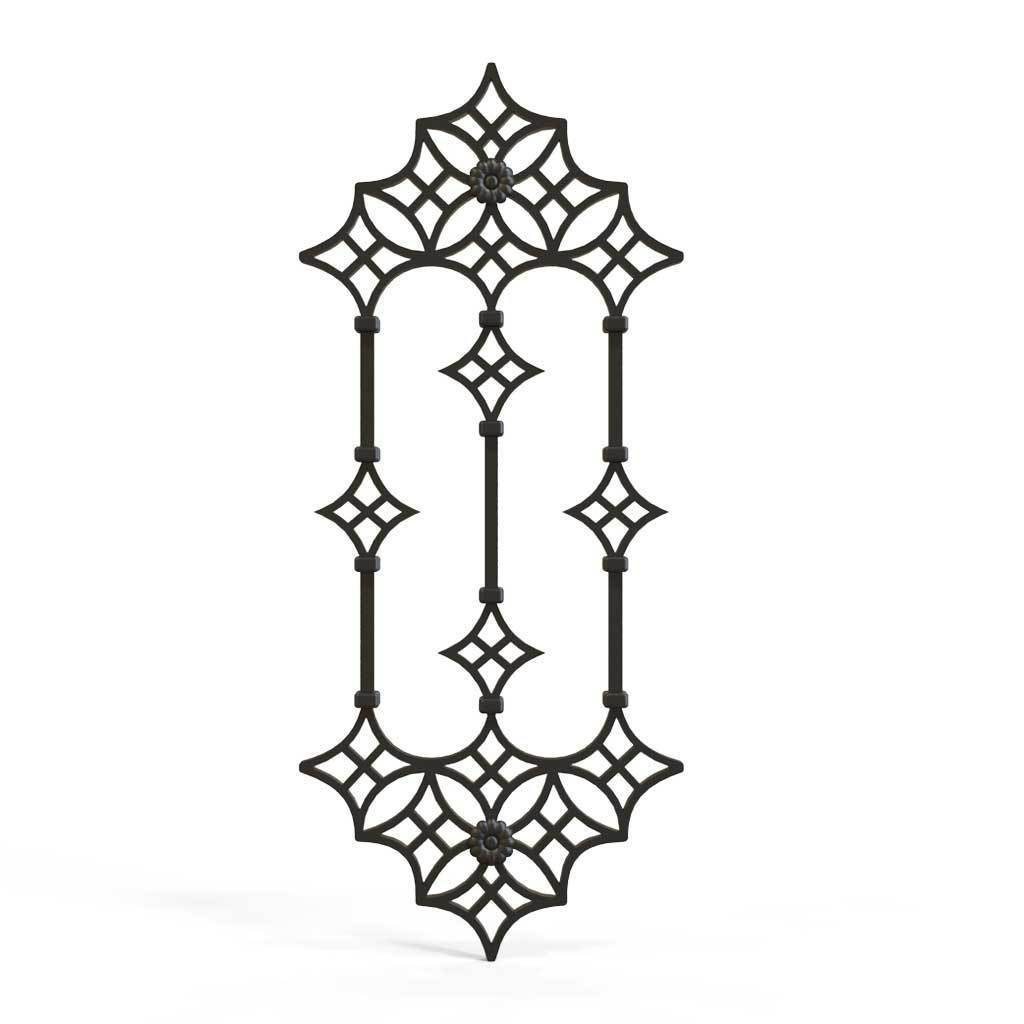Decorative Panel - Wrought Iron Decorative Panel - Al Hambra