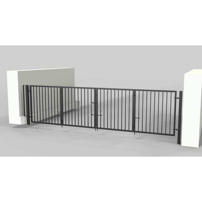 Estate Gates - Ashburton Style - Bi Fold Gates