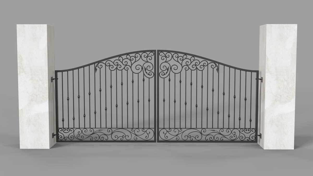 Estate Gates - Dorset Style - Estate Gates