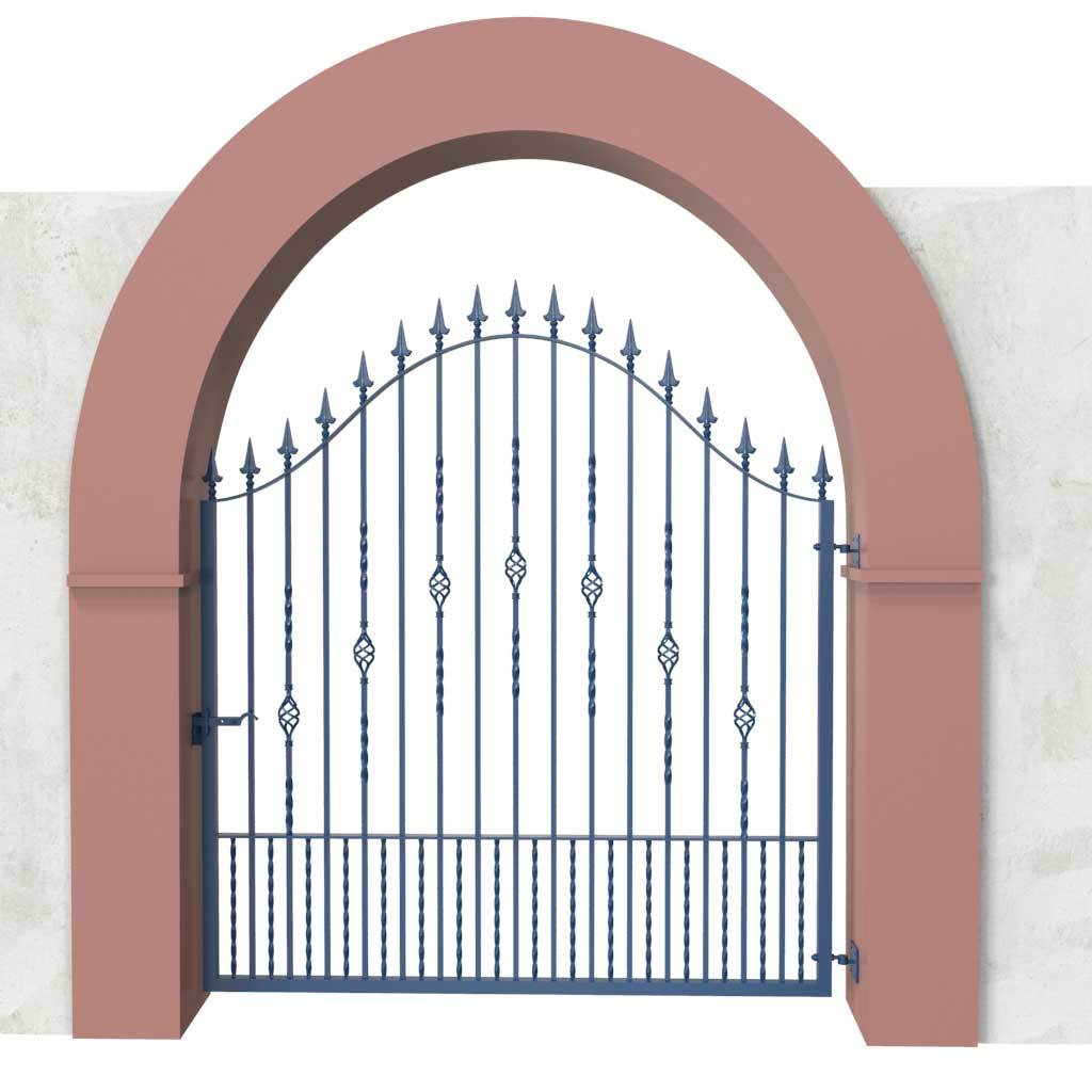 Estate Gates - Shaldon Style - Estate Gate