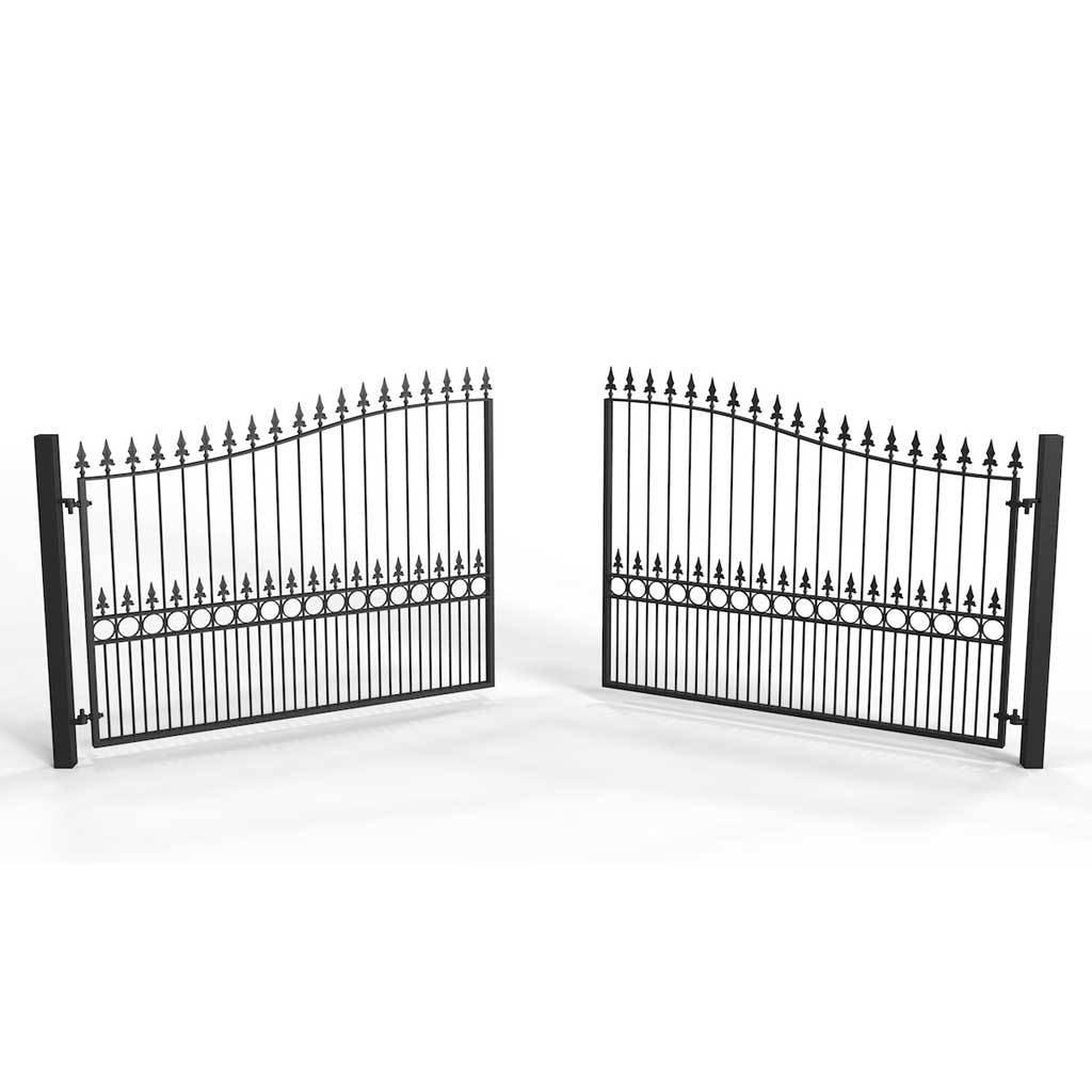 Estate Gates - South Molton Style - Estate Gate