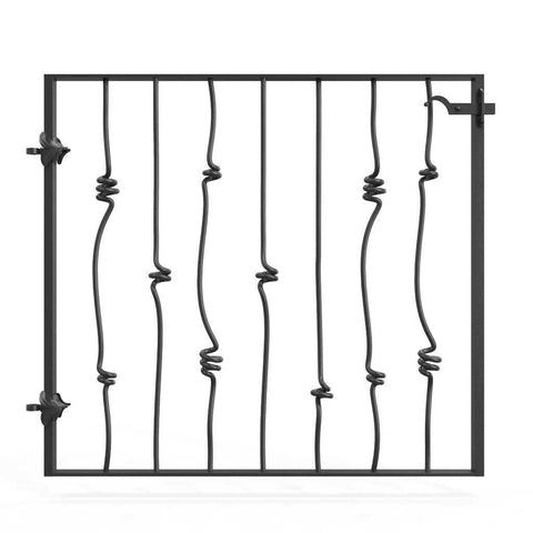 Marlborough - Style 2 - Garden side gate with latch