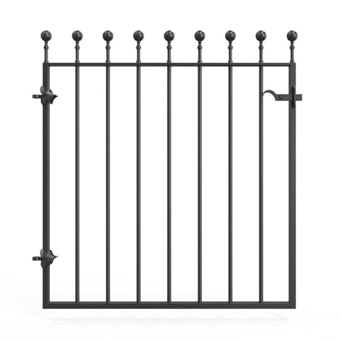 Canterbury - Style 6 -  Metal Garden Gate with latch