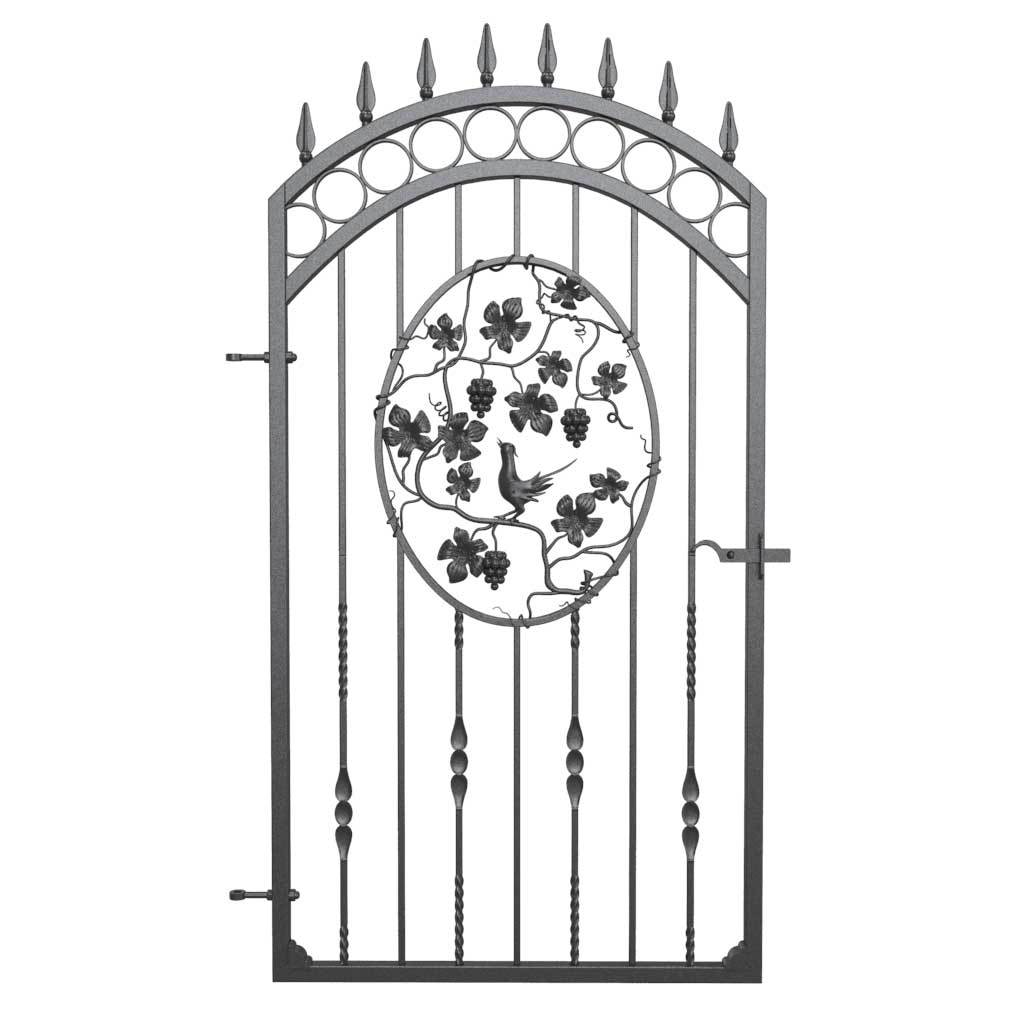 Gates - Buckinghamshire Style - Bird And Vines Gate