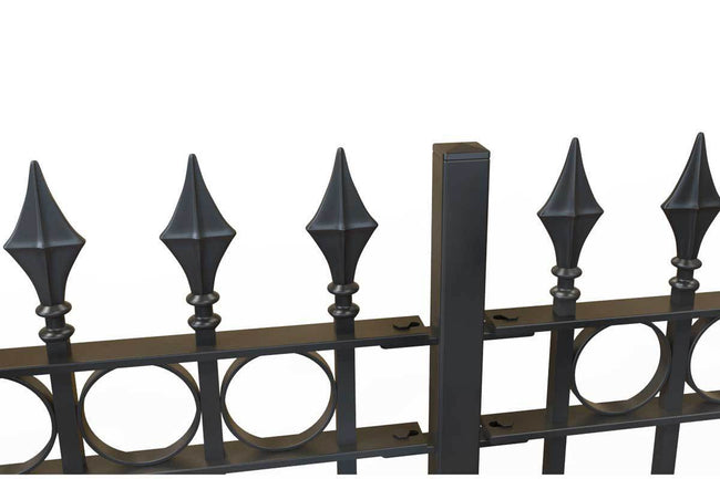 Railings - Brixham - Style 10A - Wrought Iron Railing