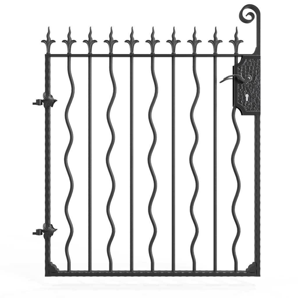 Railings - Devon - Style 27B - Wrought Iron Railing