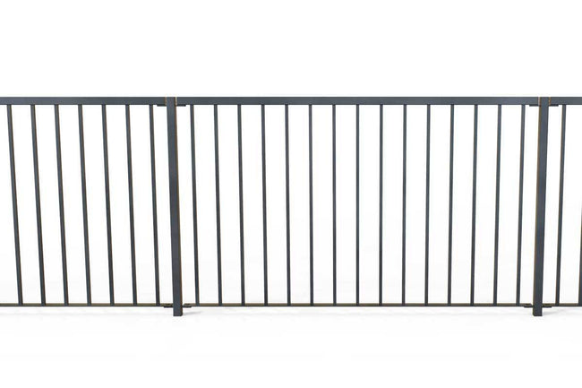 Railings - Hampshire - Style 18 -  Iron Railing