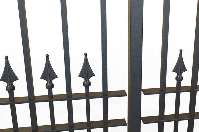 Railings - Lambourn - Style 15C - Wrought Iron Railing
