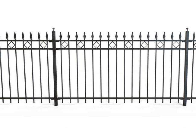 Railings - London - Style 22 - Wrought Iron Railing