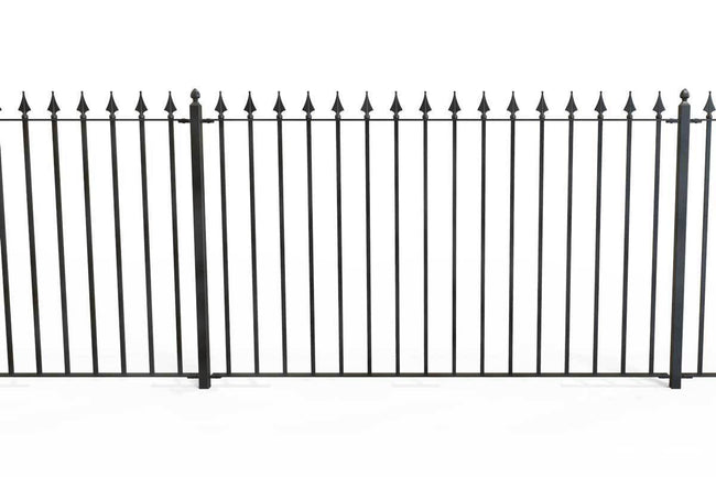 Railings - Nottingham - Style 31A - Wrought Iron Railing